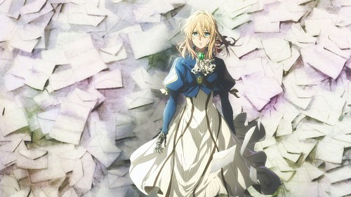 Akiko Takase, Kyoto Animation, Violet Evergarden, Violet Evergarden (Character), Official Wallpaper