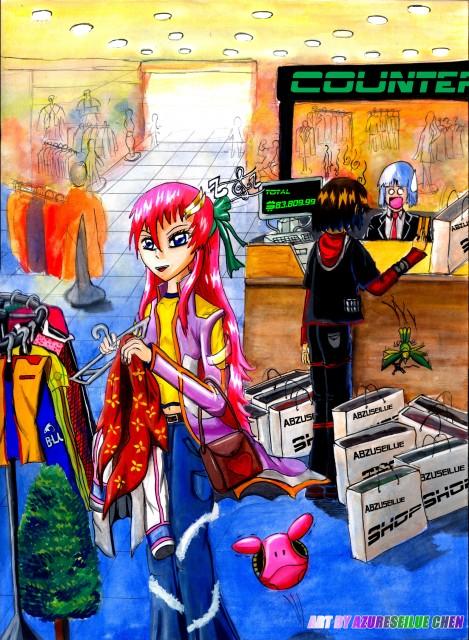 Sunrise (Studio), Mobile Suit Gundam SEED Destiny, Lacus Clyne, Kira Yamato, Haro