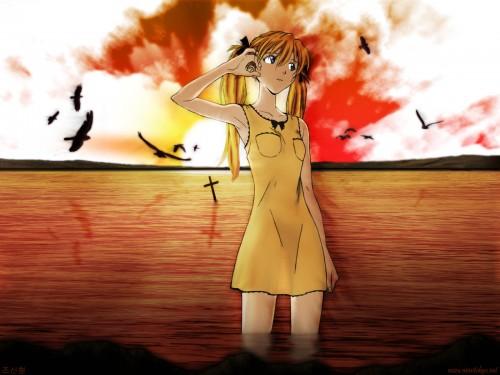 Neon Genesis Evangelion, Asuka Langley Soryu Wallpaper