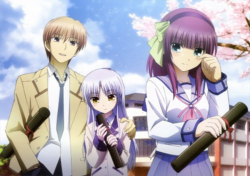 Kento Totani, Key (Studio), Angel Beats!, Angel Beats! Official Guide Book, Yuri Nakamura