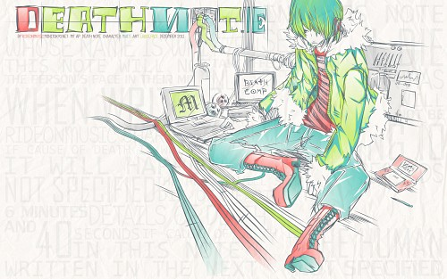 LARGE.Fact, Madhouse, Death Note, Matt, Vector Art Wallpaper