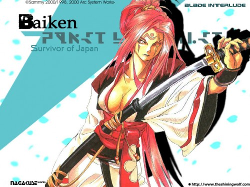 Guilty Gear, Baiken Wallpaper
