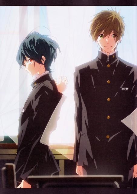 Futoshi Nishiya, Kyoto Animation, Free!, Ikuya Kirishima, Makoto Tachibana