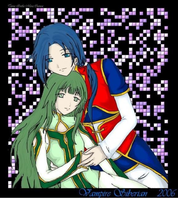 Namco, Tales of Symphonia, Yuan Ka-Fai, Martel (Tales of Symphonia), Member Art