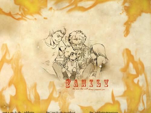 Akira Amano, Artland, Katekyo Hitman Reborn!, Nana Sawada, Iemitsu Sawada Wallpaper