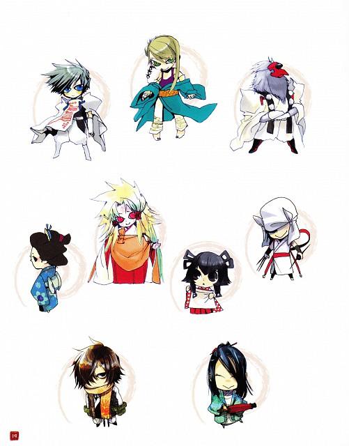 Shinobu Takayama, Amatsuki, Utsubushi, Kanzou, Shinshu (Amatsuki)