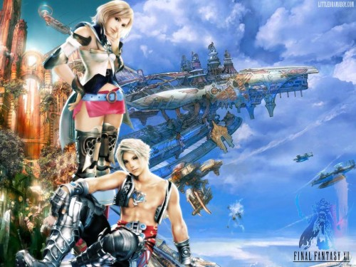 Square Enix, Final Fantasy XII, Vaan, Ashe Wallpaper