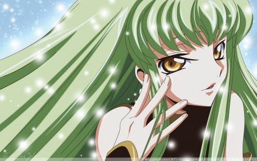 Sunrise (Studio), Lelouch of the Rebellion, C.C., Vector Art Wallpaper