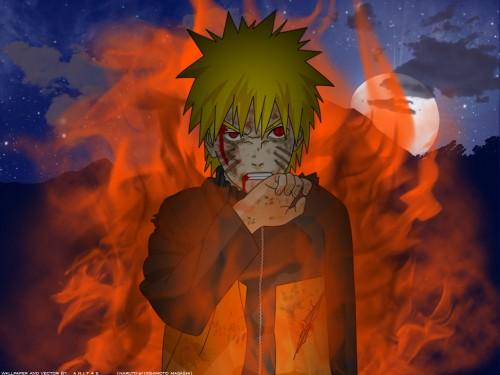 Browse Naruto Kyuubi Mode Wallpapers Minitokyo