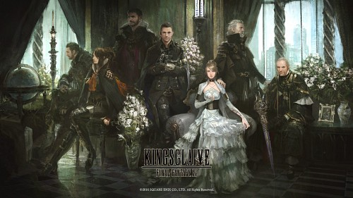 Kenji Niki, Square Enix, Final Fantasy XV, Titus Drautos, Regis Lucis Caelum