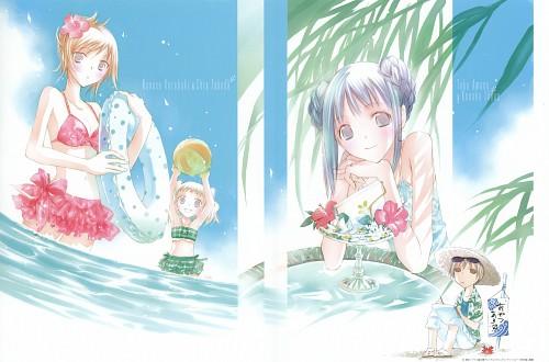 Miho Takeoka, Bungaku Shoujo, Bungaku Shoujo Fantasy Art Book, Nanase Kotobuki, Chia Takeda