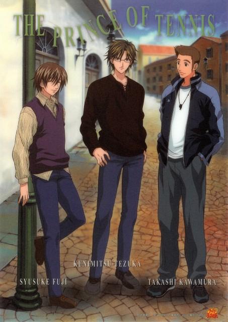 Takeshi Konomi, J.C. Staff, Prince of Tennis, Kunimitsu Tezuka, Shusuke Fuji