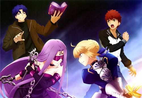 TYPE-MOON, Fate/stay night, Shiro Emiya, Rider (Fate/stay night), Shinji Matou