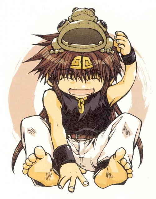 Kazuya Minekura, Saiyuki Gaiden, Salty Dog I, Son Goku (Saiyuki)