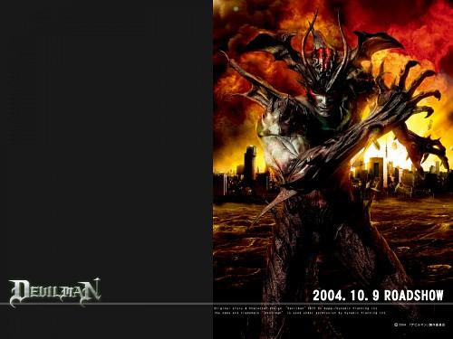 Go Nagai, Devilman, Official Wallpaper