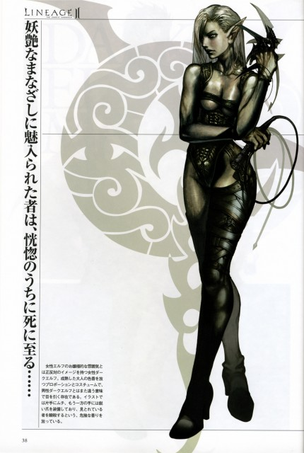 Juno Jeong, Lineage II - The Chaotic Chronicle Visual Fan Book, Lineage