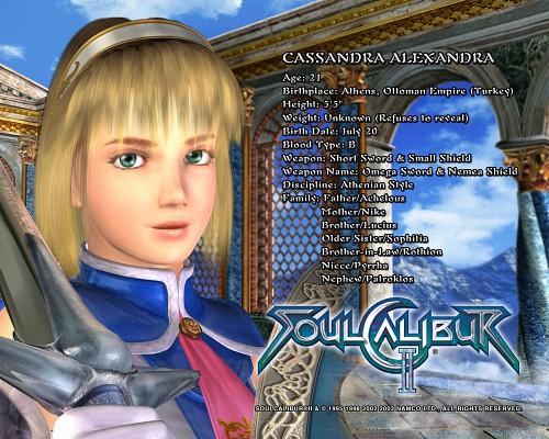 Namco, Soul Calibur, Cassandra