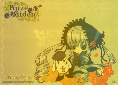 fantastique, Rozen Maiden, Shinku, Stationery, Doujinshi