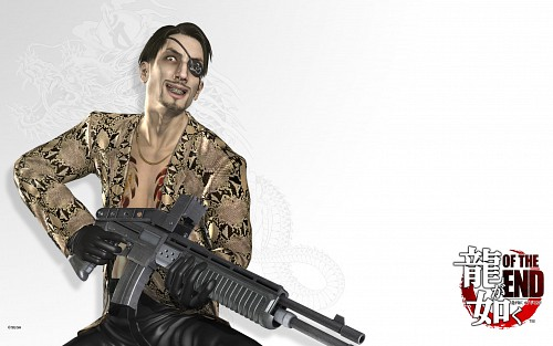 Ryu ga Gotoku of the End, Majima Goro, Official Wallpaper