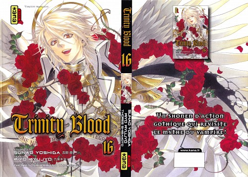 Shibamoto Thores, Trinity Blood, Manga Cover