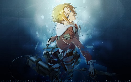 Production I.G, Shingeki no Kyojin, Annie Leonhardt, Vector Art Wallpaper