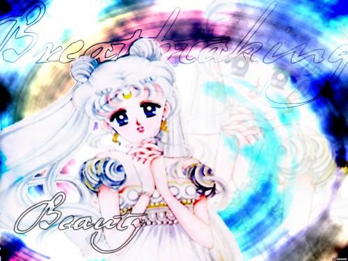 Naoko Takeuchi, Bishoujo Senshi Sailor Moon, BSSM Original Picture Collection Vol. I, Princess Serenity Wallpaper