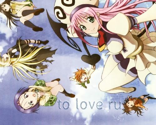 To-LOVE-Ru Wallpaper
