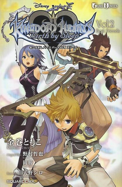 Shiro Amano, Square Enix, Kingdom Hearts, Aqua (Kingdom Hearts), Ventus