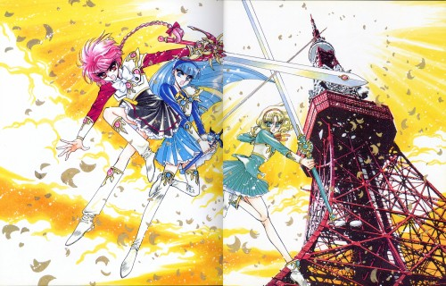 CLAMP, TMS Entertainment, Magic Knight Rayearth, Magic Knight Rayearth 2 Illustrations Collection, Umi Ryuuzaki