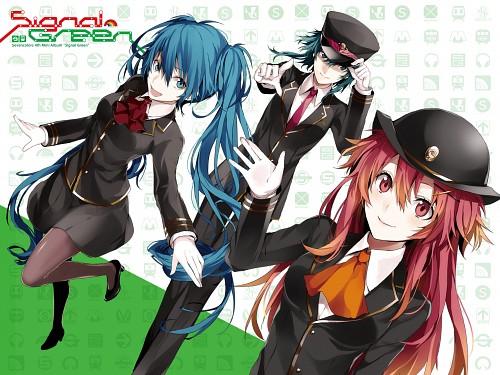 Ako Arisaka, Vocaloid, Gumi, Nanase Kanon, Miku Hatsune