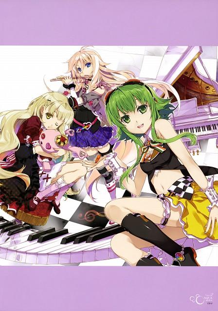 Takuya Fujima, ViVidgarden, Vocaloid, IA, Gumi