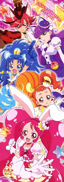 Toei Animation, Kirakira Precure A La Mode, Cure Gelato, Cure Whip, Cure Chocolat