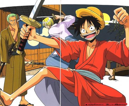 Eiichiro Oda, One Piece, Monkey D. Luffy, Sanji, Roronoa Zoro