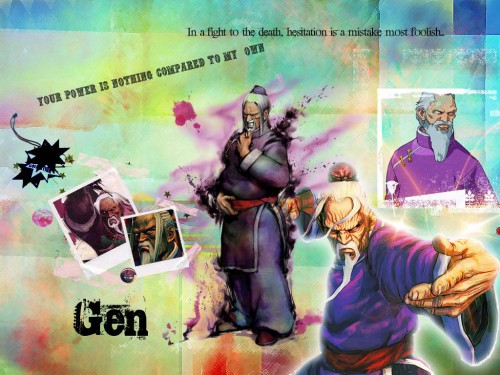 Capcom, Street Fighter, Gen Wallpaper