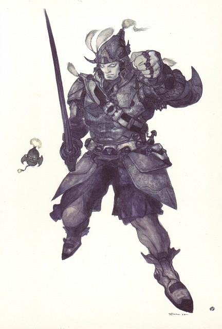 Yoshitaka Amano, Square Enix, Final Fantasy IX Postcard Book, Final Fantasy IX, Steiner