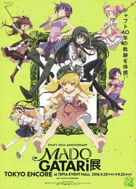 Shaft (Studio), Puella Magi Madoka Magica, Bakemonogatari, Homura Akemi, Mayoi Hachikuji