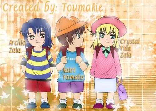 Sunrise (Studio), Mobile Suit Gundam SEED Destiny, Kira Yamato, Cagalli Yula Athha, Athrun Zala