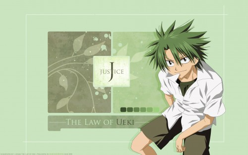 Tsubasa Fukuchi, The Law of Ueki, Kousuke Ueki Wallpaper