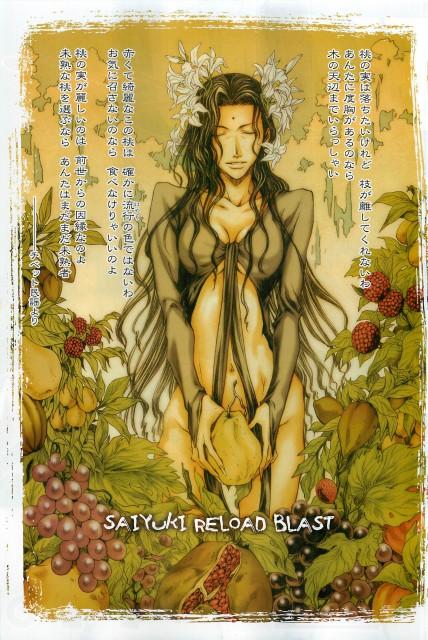 Kazuya Minekura, Studio Pierrot, Saiyuki, Kanzeon Bosatsu, Monthly Comic Zero-Sum