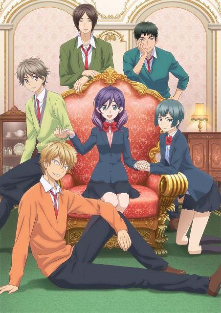 Junko, Brains Base, Watashi ga Motete Dousunda, Shima Nishina, Nozomu Nanashima