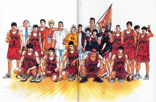 Takehiko Inoue, Slam Dunk, Inoue Takehiko Illustrations, Haruko Akagi, Ryota Miyagi