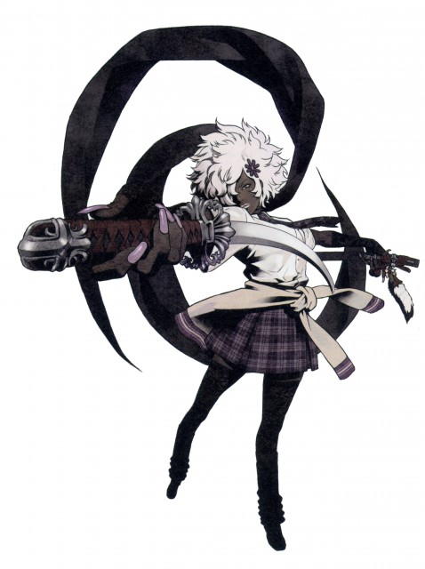 Yuusuke Kozaki, KYMG - Yusuke Kozaki Illustrations, No More Heroes, Shinobu Jacobs
