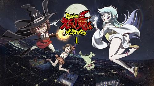 Dororon Enma-kun Meeramera, Enma, Yukihime, Chapeauji