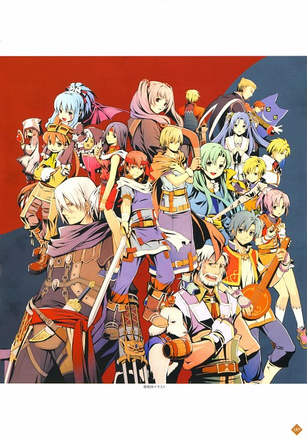 Falcom, The Legend of Heroes Illustration Artbook, The Legend of Heroes III: Song of the Ocean, The Legend of Heroes II: Prophecy of the Moonlight Witch, The Legend of Heroes: A Tear of Vermillion