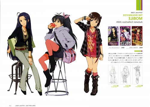 Annindofu Illustration Works - Brilliant Idol, Idol Master, Hibiki Ganaha, Haruka Amami, Azusa Miura