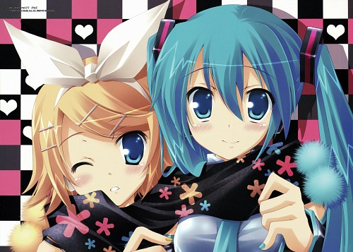 Akane Ikegami, Akane Iro - Ikegami Akane Art Works, Vocaloid, Rin Kagamine, Miku Hatsune