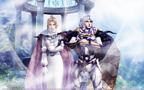 Square Enix, Final Fantasy IV, Cecil Harvey, Rosa Joanna Farrell Wallpaper