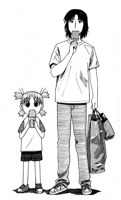 Kiyohiko Azuma, Yotsubato!, Mr. Koiwai, Yotsuba Koiwai