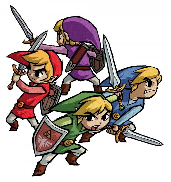 The Legend of Zelda: Four Swords Adventures, The Legend of Zelda, Toon Link, Link