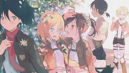 Tanu (Mangaka), Production I.G, Shingeki no Kyojin, Sasha Blouse, Krista Lenz